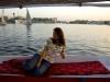 Surcando en falucca las aguas del Nilo