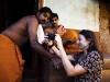 Estos monjes de Gokarna insistieron en ver su foto