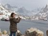 Pleno invierno en las Lofoten, unas islas de lo más salvaje en Noruega