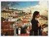 Uno de los preciosos miradores de Lisboa