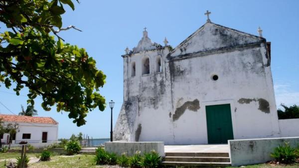 Iglesia de Sao Joao en la isla de Ibo