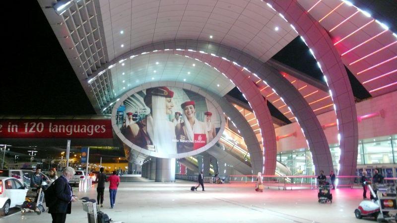 El aeropuerto de Dubai, con la primera terminal exclusiva para el A-380