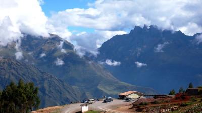 Montañas de las proximidades de Cuzco