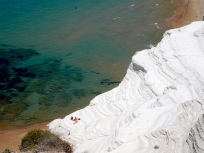 La increíble playa de la Scala dei Turchi