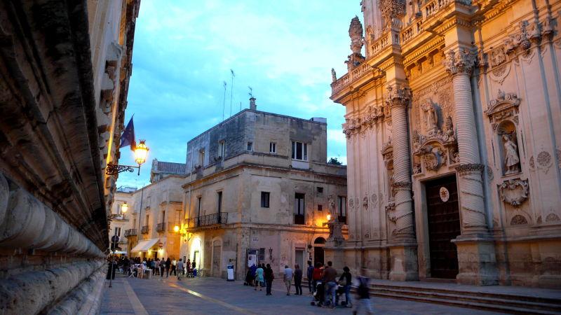 Lecce, en Puglia
