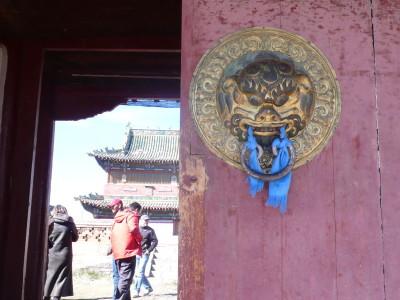 El monasterio de Erdene Zuu, cerca de Karakórum, la antigua capital del Imperio Mongol que ya no es ni sombra de lo que fue.