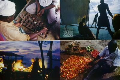 Reportaje de Zanzíbar en la revista VIAJAR