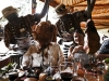 Carne de impala, avestruz o cocodrilo, en el restaurante Carnivore de Nairobi. !Vegetarianos abstenerse!
