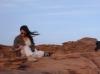 Imposible no inspirarse en la soledad del desierto jordano del Wadi Rum