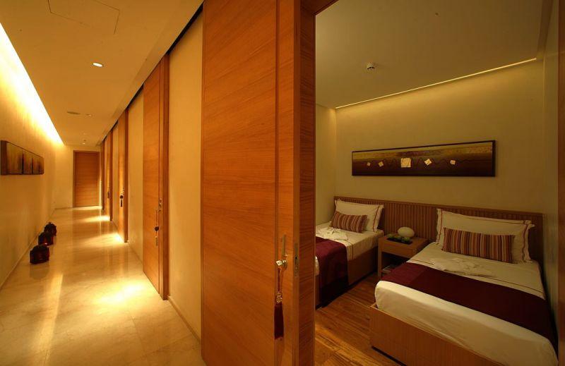 Habitaciones como en un hotel, sólo para pasajeros de Primera