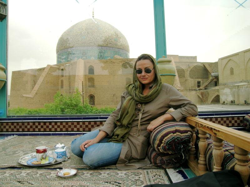 Una servidora en Irán