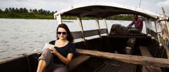 Navegando por los canales de Kerala