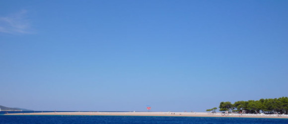 Verano en la costa de Croacia