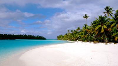 """La laguna de Aitutaki, la """"estrella"""" de esta islita absolutamente imprescindible."""