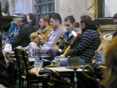 Pipas de agua en Estambul