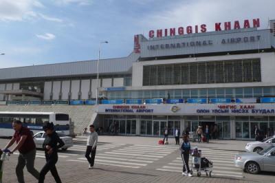 Desde el aeropuerto hasta el mejor vodka, todo se llama Chinggis Khaan... es decir, Gengis Kan.