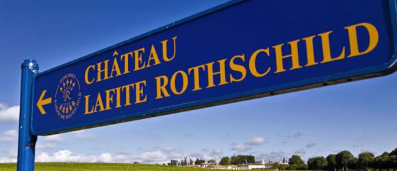 La senda hacia Château Lafite, Ruta de los Castillos de Burdeos