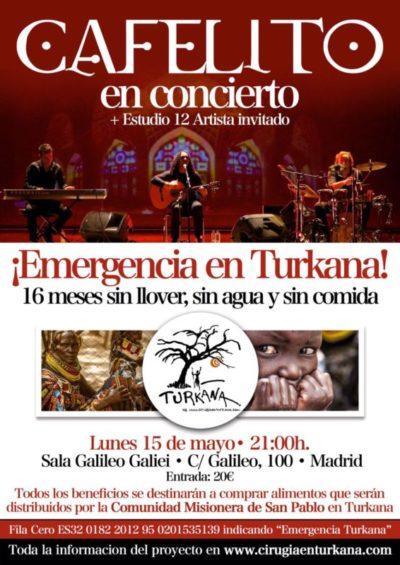 Emergencia Turkana concierto