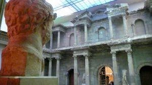 La Puerta de Mileto, en el Museo de Pérgamo de la Isla de los Museos