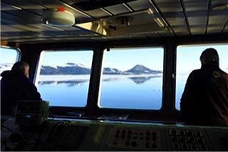 Avistamientos desde el puente, en el Mar de Ross (Antártida)